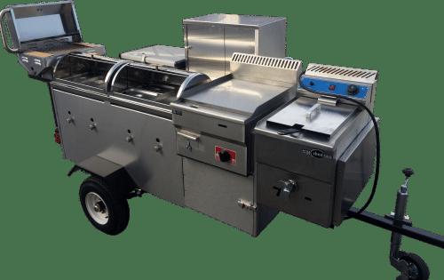 custom hot dog cart