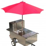 the big dog hot dog cart