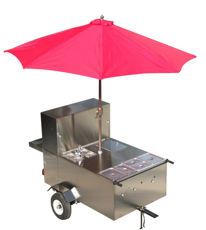 the big dog hot dog cart